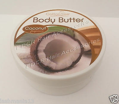 Cotton Tree Body Butter With Coconut Fragrance Moisturises & Hydrates 200g