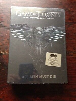 Game Of Thrones Season 4 Dvd Brand New Still Sealed