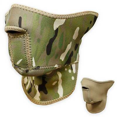 Bulldog Reversible Military Army Airsoft Neoprene Face Mask MTP Multicam Coyote