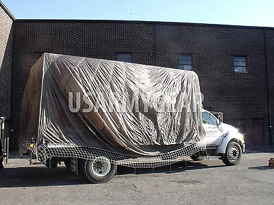 Truck Car Cover Sun Shade Garden Party Fun Parachute Man Cave Camouflage Netting