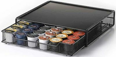Nifty 36 K-Cup Coffee Pod Drawer Space Saving Design Holder Storage Organizer