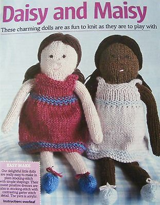 Daisy May Dolls Knitting Patterns : Doll Items, Patterns, Knitting, Crafts