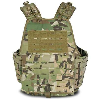 Viper Lazer Platform Airsoft Military Army MOLLE Armour Plate Carrier MTP V-CAM