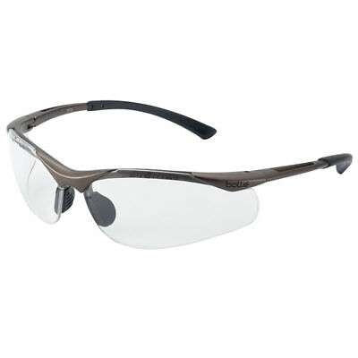 Bolle Contour Safety Work Uniform Protective Shooting Glasses Clear Lens CONTPSI