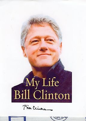 President Bill Clinton signed autographed photo REAL signature