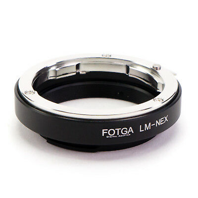 Adapter Ring Leica M LM Lens to Sony E-Mount Camera NEX A7S A7R II A6500 A6000