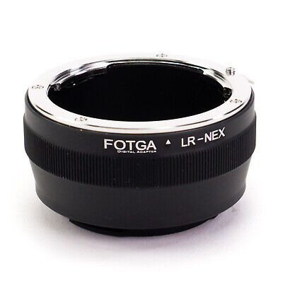 Adapter Ring Leica R LR Lens to Sony E-Mount Camera NEX A7S A7R II A6500 A6000
