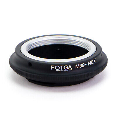 Adapter Ring Leica M39 LTM Lens to Sony E-Mount Camera NEX A7S A7R II A7 A6300