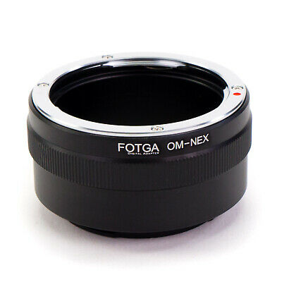 Adapter Ring Olympus OM Lens to Sony E-Mount Camera NEX A7S A7R II A6000 A6500