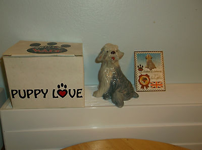 WADE FIGURINE - PUPPY LOVE COLLECTION 1999 - HENRY