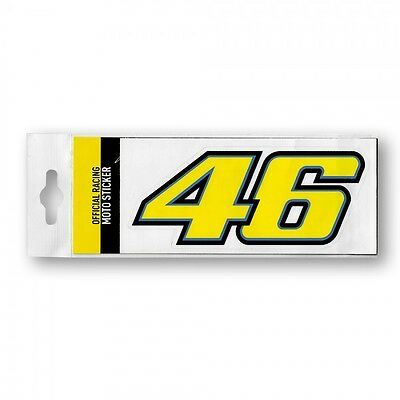 Valentino Rossi VR46 Large 46 Moto GP Motorcycle Racing Sticker Official New