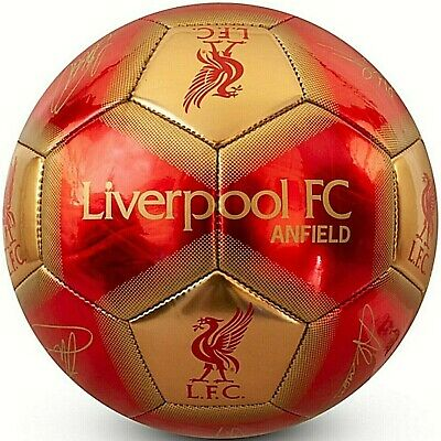 LIVERPOOL FC 2019/20 Official Gift Size 1 CHILDS Ball Signature Football Red LFC