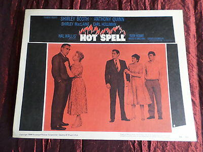 Hot Spell - Anthony Quinn - Shirley Booth - Usa Lobby Card- 11X14 -#5