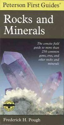 Peterson First Guide To Rocks And Minerals - Pough, Frederick H. - New Paperback