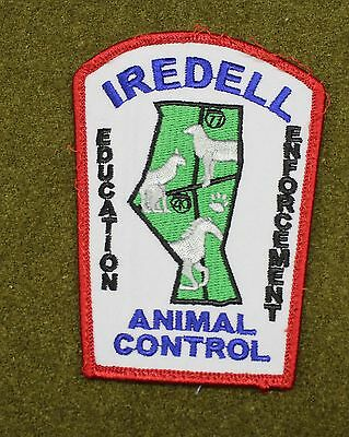32578) Patch Iredell County Animal Control North Carolina Sheriff Police Law