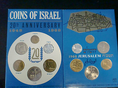 Israel 1968 Mint Set  Great Gift Item For Any Collector  Ships Free In Usa!