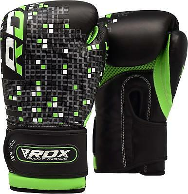 RDX 6oz Kids Boxing Gloves Punch Bag Mitts Junior Children MMA Youth Boy, Kick C
