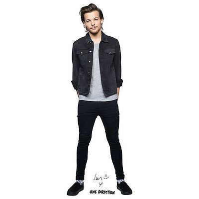 LOUIS TOMLINSON One Direction 1D Lifesize CARDBOARD CUTOUT Standee Standup F/S