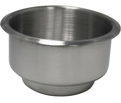 1PC STAINLESS STEEL POKER TABLE CUP HOLDER DUAL SIZE (1pc)