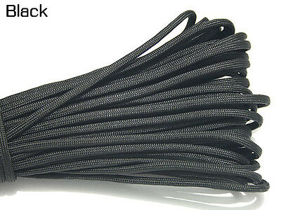 550 Paracord Parachute Cord Lanyard Mil Spec Type III 7 Strand Core 100 FT #16