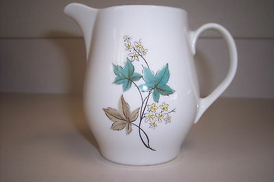 Lovely Vintage Syracuse Carefree True China Creamer Woodbine Pattern U.S.A.