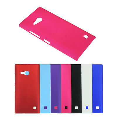 New Frosted Hard Plastic Back Cover Case Skin For Nokia Lumia 730 735 Favored