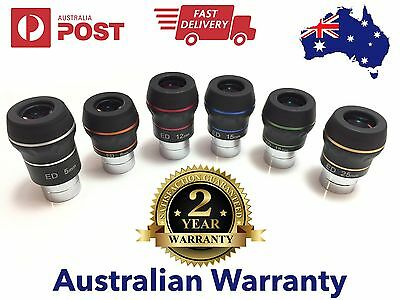 "6 x Dual ED 1.25"" eyepiece for telescope - Full PACK! 1.25"" eyepieces telescope"