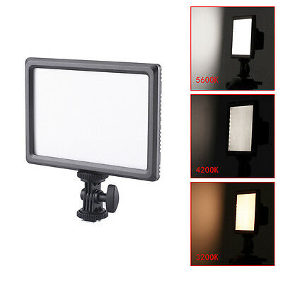 Neewer Ultra Thin 112-LED Dimmable Video Light Pad f DSLR Camera Camcorder EM#12