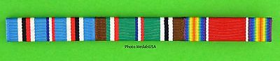 3 Ribbon Bar WWII European Campaign - ETO - World War Two - WWII - WW2