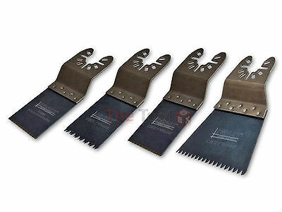 Smart H4MAK 4pc Multi Tool Blade Set, fits Fein, Bosch, Makita, DeWalt & more