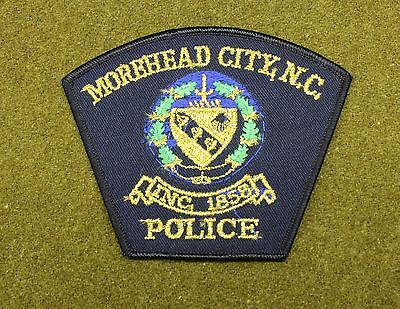 32597) Patch Morehead City North Carolina Police Sheriff Department Law Fire