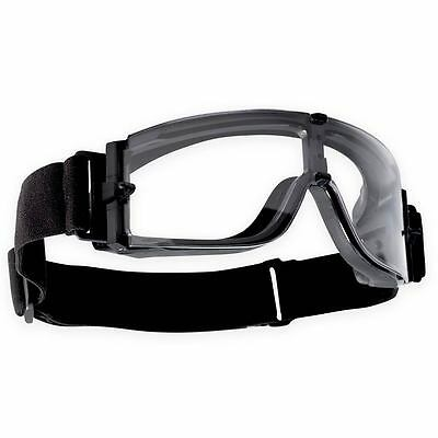 Bolle Tactical X800 Goggles Clear Lens Ballistic Military Police Safety Airsoft