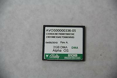 Bally Alpha OS AVOS00000336-05 2GB DMA CF Card for Casino Slots Machine Game