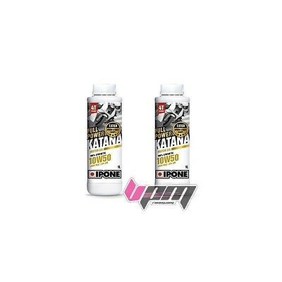 Pack 2 x 1L IPONE FULL POWER KATANA 10W50
