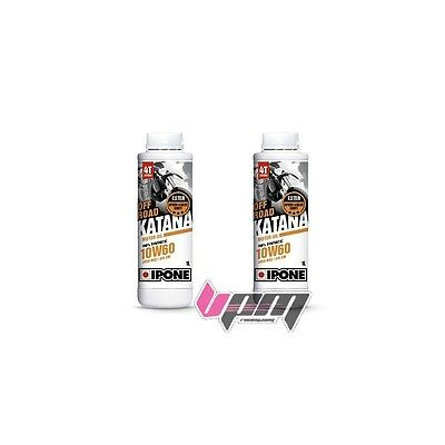 Pack 2 x 1L Huile IPONE FULL POWER KATANA OFF ROAD 10 W 60 SPECIAL KTM & HVA