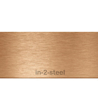 Copper Sheet Metal  - 0.5mm Thickness Select Required Size
