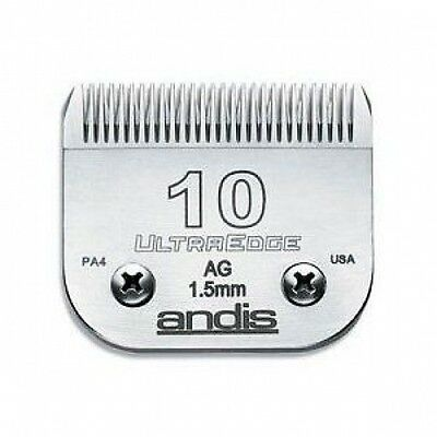 ANDIS 10 CLIPPER BLADE 1.5mm. 1 1/16""