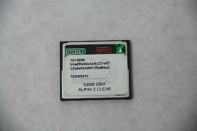 Bally 162385B ALPHA 2 CLEAR 64MB DMA CF Card for Casino Slots Machine Game