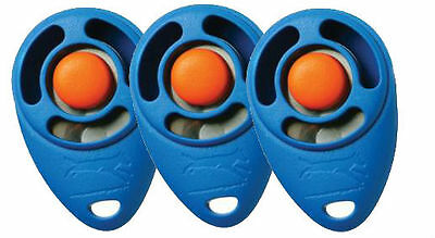 StarMark Triple Crown CLICKER Proven Dog Puppy Pet Scientific Training 3 PACK