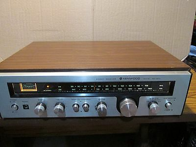 Kenwood Kr-1400 Vintage Stereo Receiver Very Nice Condition