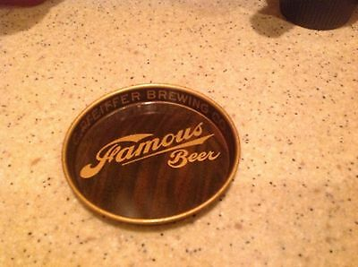 Pfeiffer Brewing Company Tip Tray Famous Beer Detroit Michigan