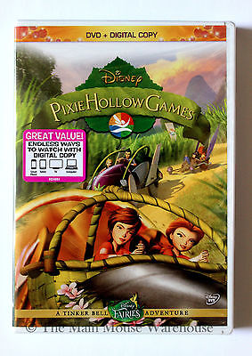 Tinker Bell Fairies Pixie Hollow Games Disney Sports Competition Girls Movie DVD