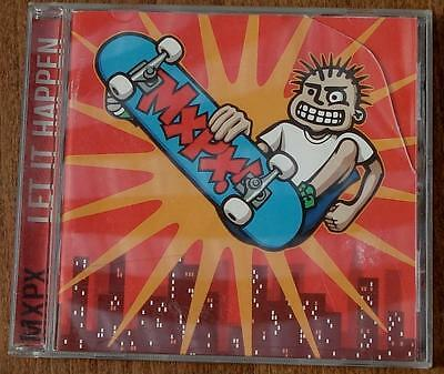 Nice Used CD, MXPX, Let It Happen, featuring HOT AND COLD, OH DONNA, MORE...