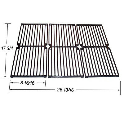 Brinkmann Gas Grill Cast Iron Porcelain coated Replacement Cooking Grid SGX103