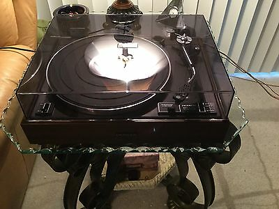 PIONEER PL-12D TURNTABLE, ABSOLUTELY MINT, SHURE CARTRIDGE, WATCH VIDEO