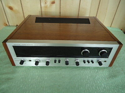 vtg. Pioneer am - fm stereo receiver model SX-1500TD with wood case