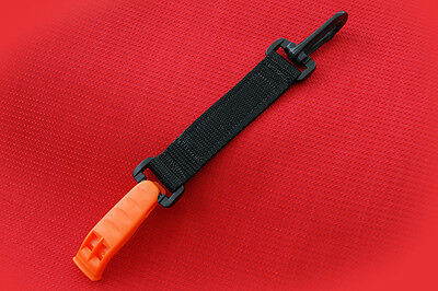 Scuba Diving Emergency Whistle With Clip