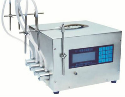 The Newest 4 filling heads Microcomputer control liquid filling machine