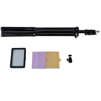 Neewer 160 LED Studio Video Light for Canon Nikon Camera Camcorder + light stand