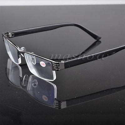Hot New Reading Glasses Coating Metal Half-frame Reading Glasses Lens 1.0 to 4.0
